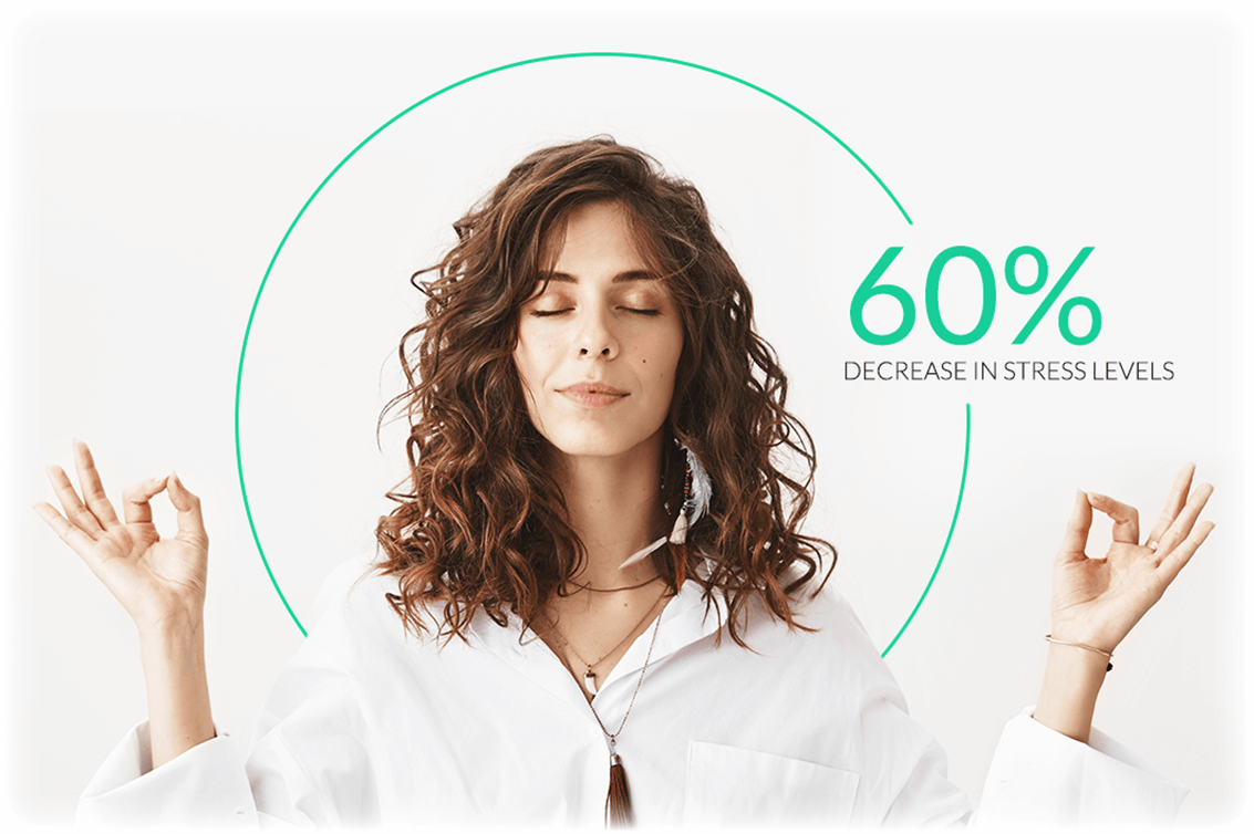 decrease stress with meditation
